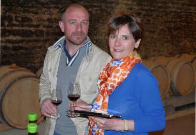 Visite chez Pascal CLEMENT à Savigny-Les-Beaune, le 03 Mars 2014.