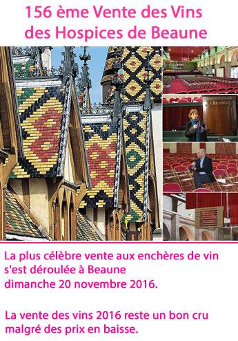 156 ème Edition de la vente des vins des Hospices de Beaune