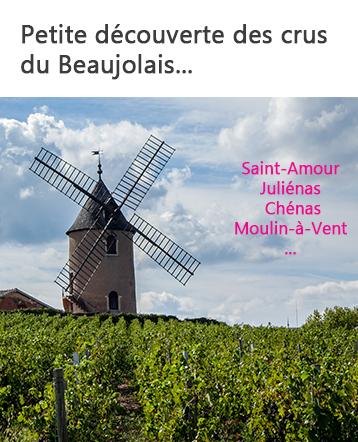 Découverte des crus du Beaujolais