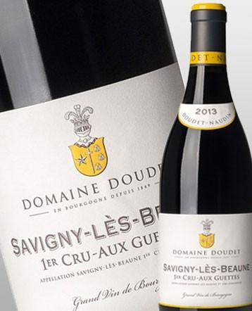 Savigny lès Beaune 1er Cru Aux Guettes rouge 2013 - Domaine Doudet