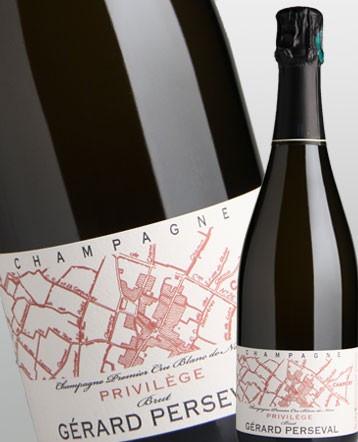 "Champagne ""Privilège"" Premier Cru Brut - Domaine Perseval"