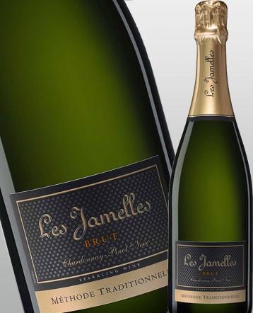 Méthode Traditionnelle Chardonnay-Pinot Noir brut - Les Jamelles