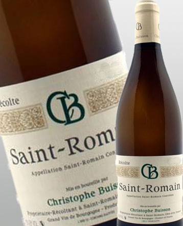 St Romain blanc 2017 - domaine Christophe Buisson