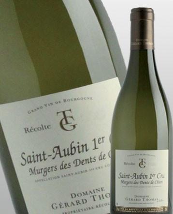 Saint Aubin 1er cru Murgers des Dents de Chien blanc 2015 - Domaine Gérard Thomas