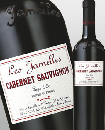 Cabernet Sauvignon rouge 2017 - Les Jamelles