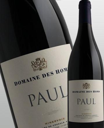 """""""Cuvée Paul"""" Minervois rouge 2016 - Domaine des Homs"""
