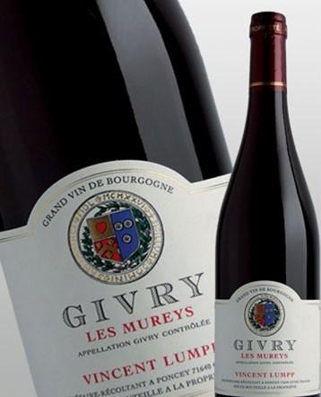 Givry les Mureys rouge 2016 - Domaine Vincent Lumpp