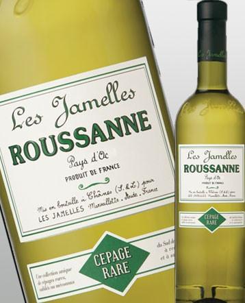 Roussanne blanc 2018 - Les Jamelles