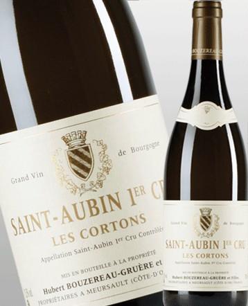 Saint Aubin 1er Cru Les Cortons blanc 2013 - Domaine Bouzereau Gruère