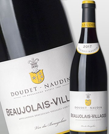 Beaujolais Villages rouge 2017 - Doudet-Naudin