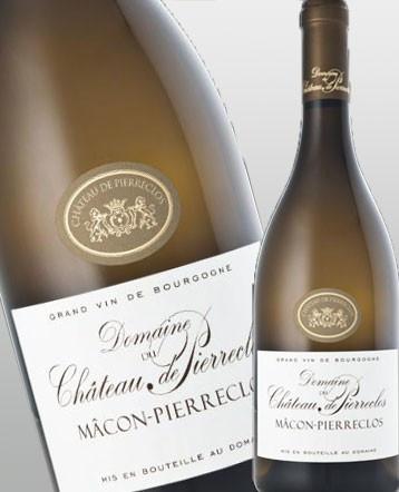 Mâcon - Pierreclos blanc Bio 2017 - Domaine du Château de Pierreclos