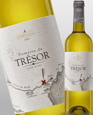 Chardonnay blanc 2018 - Domaine du Trésor