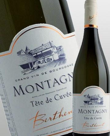 Montagny Tête de Cuvée blanc 2017 - Domaine Berthenet