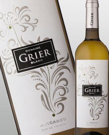 IGP Côtes Catalanes Maccabeu blanc 2016 - Domaine Grier