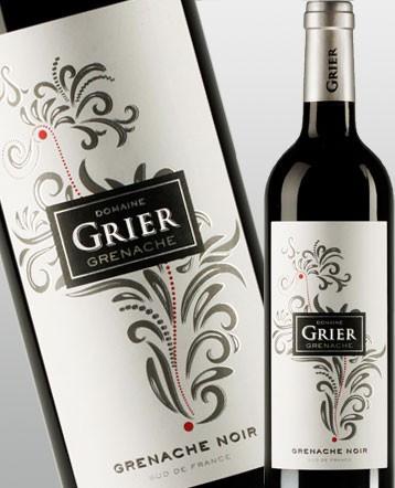Grenache Noir IGP Côtes Catalanes rouge 2015 - Domaine Grier