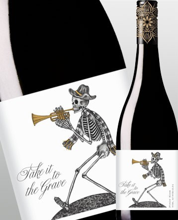 Pinot Noir rouge 2016 - Take it to the grave / Australie
