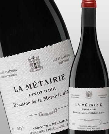 """""""La Métairie"""" Pinot Noir rouge 2017 - Domaine de la Métairie d'Alon"""