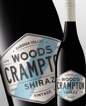 "Shiraz ""White Label"" rouge 2016 - Woods Crampton"