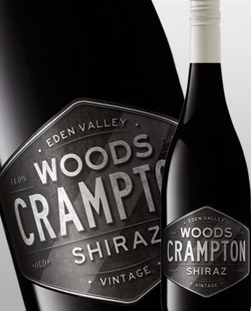 "Shiraz ""Black Label"" rouge 2015 - Woods Crampton"