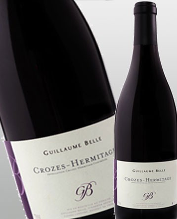 Crozes Hermitage Bio rouge 2017 - Domaine Guillaume Belle