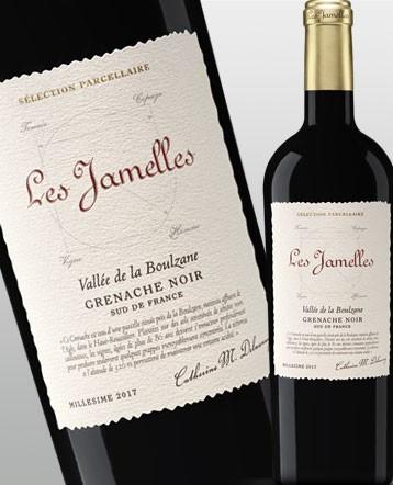 """Grenache Noir """"Vallée de la Boulzane"""" rouge 2017 - Les Jamelles """"Sélection Parcellaire"""""""