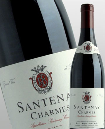 Santenay Charmes rouge 2014 - Domaine Roger Belland
