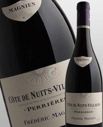 """Côte de Nuits Villages """"Perrières"""" rouge 2014 - Frédéric Magnien"""