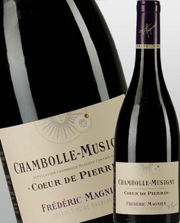 Chambolle Musigny Coeur de Pierre rouge 2013 - Frédéric Magnien