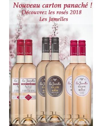 Carton Panaché Rosés 2018 - Les Jamelles