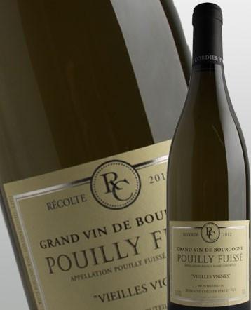 Pouilly-Fuissé Vieilles Vignes blanc 2017 - Domaine Cordier