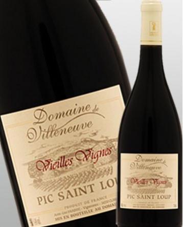 Pic Saint Loup Vieilles Vignes rouge 2017 - Domaine de Villeneuve