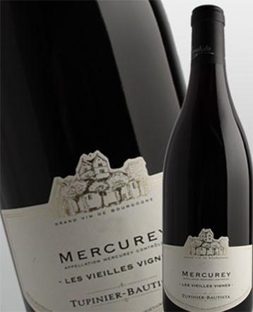 Mercurey Vieilles Vignes rouge 2018 - Domaine Tupinier Bautista