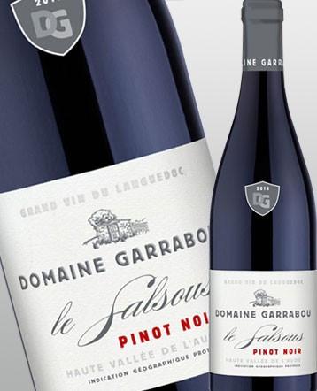 Pinot Noir Le Salsous rouge 2018