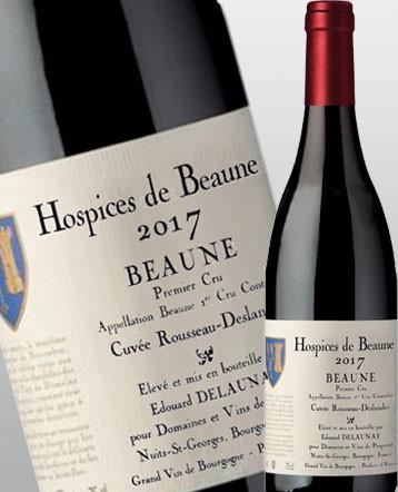 Beaune 1er cru Cuvée Rousseau Deslandes rouge 2017 Hospices de Beaune