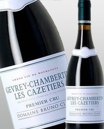 Gevrey Chambertin 1er Cru Cazetiers rouge 2014 domaine Bruno Clair