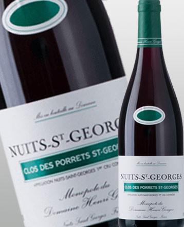 Nuits-Saint-Georges 1er Cru Porrets Saint Georges rouge 2016 domaine Henri Gouges