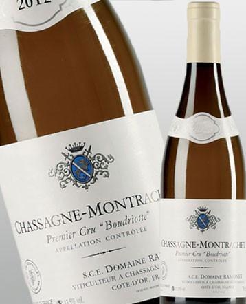Chassagne-Montrachet 1er Cru Boudriottes blanc 2016 - Domaine Ramonet