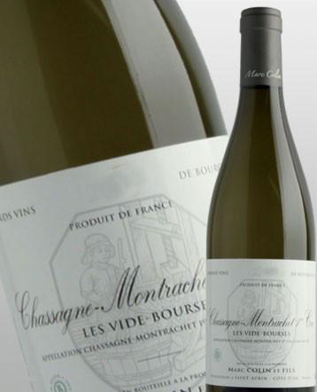 Chassagne Montrachet 1er Cru Les Vides Bourses blanc 2017 - Domaine Marc Colin