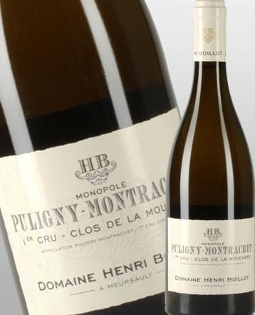 Puligny-Montrachet 1er Cru Clos de la Mouchère blanc 2017 - Domaine Henri Boillot