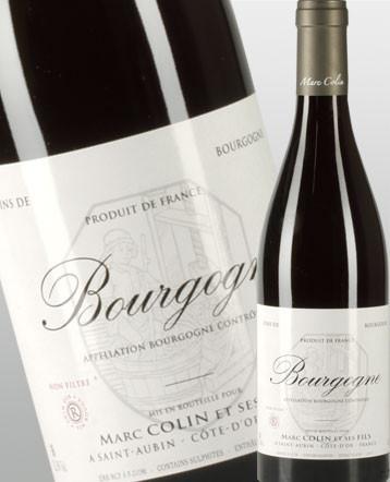 Bourgogne Pinot Noir rouge 2017 - Domaine Marc Colin