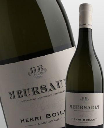 Meursault blanc 2017 - Domaine Henri Boillot