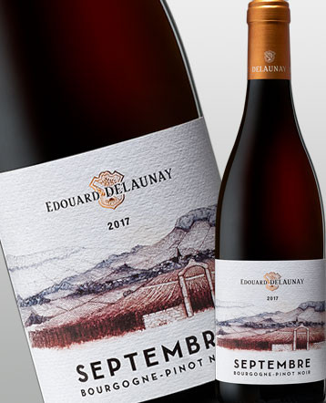 Bourgogne Pinot Noir Septembre rouge 2017 Edouard Delaunay