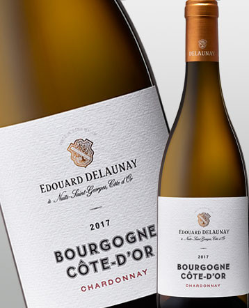 Bourgogne Côte d'Or Chardonnay Blanc 2017 Edouard Delaunay