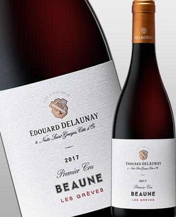 Beaune 1er Cru Les Grèves rouge 2017 Edouard Delaunay