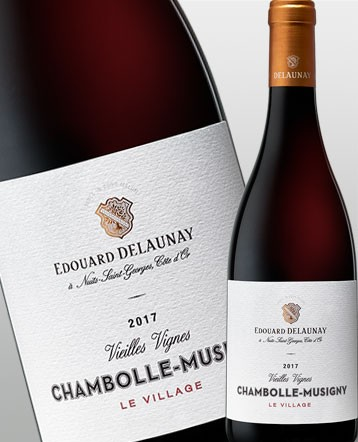Chambolle Musigny Vieilles Vignes Le Village rouge 2017 Edouard Delaunay