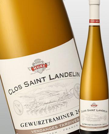 Gewurztraminer blanc 2011 Vendanges Tardives Clos Saint Landelin Bio Domaine Muré