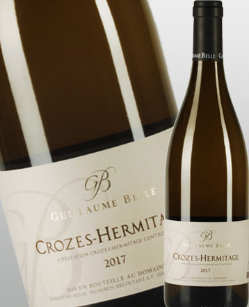 Croze Hermitage blanc 2017 domaine Guillaume Belle