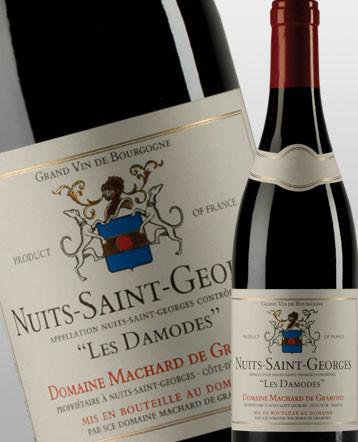 Nuits Saint Georges Les Damodes rouge 2017 - domaine Machard de Gramont