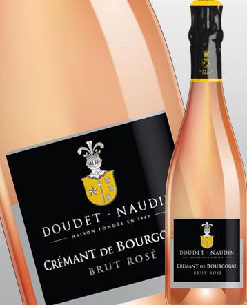 Crémant de Bourgogne rosé - Doudet Naudin