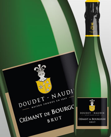 Crémant de Bourgogne Brut blanc - Doudet Naudin